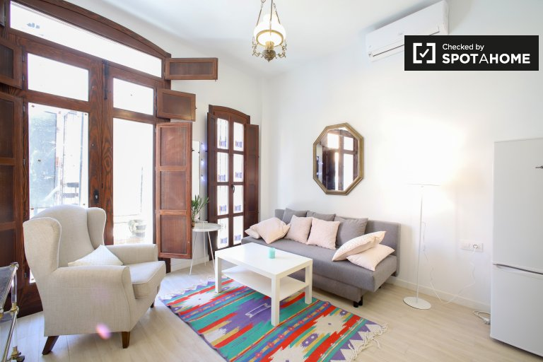 Neat studio apartment for rent in Poblats Marítims, Valencia