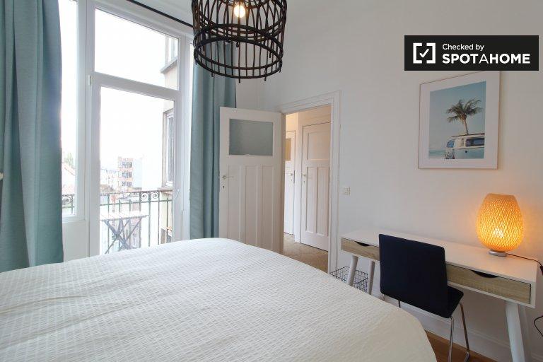 Zimmer zu vermieten in 2-Zimmer-Wohnung in Molenbeek, Brüssel