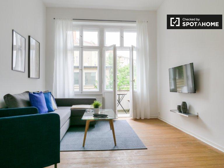 Appartamento con 1 camera da letto in affitto a Schöneberg, Berlino