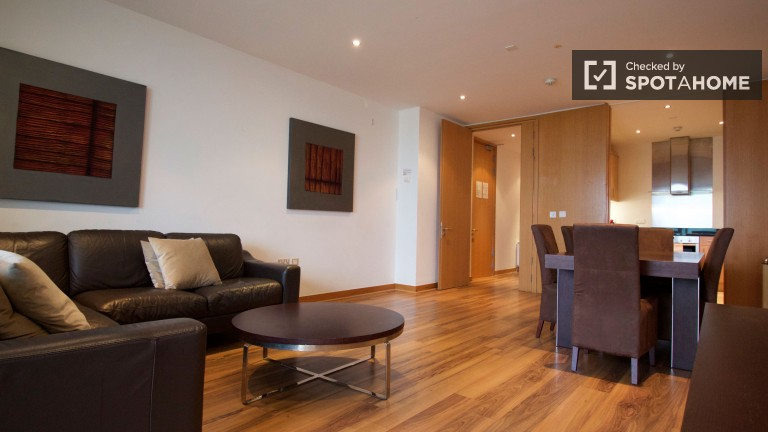 2 Bedroom Apartment With Utilities Included in North Wall Quay, Dublin
