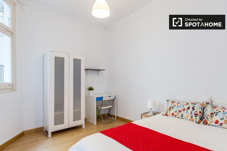 El Born'da paylaşılan apartmanda dinlendirici oda, Barselona
