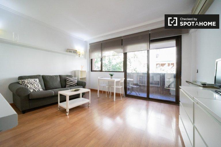 Acolhedor apartamento de 1 quarto para alugar em Salamanca, Madrid
