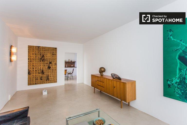Moderno apartamento com 2 quartos para alugar em Mitte, Berlim