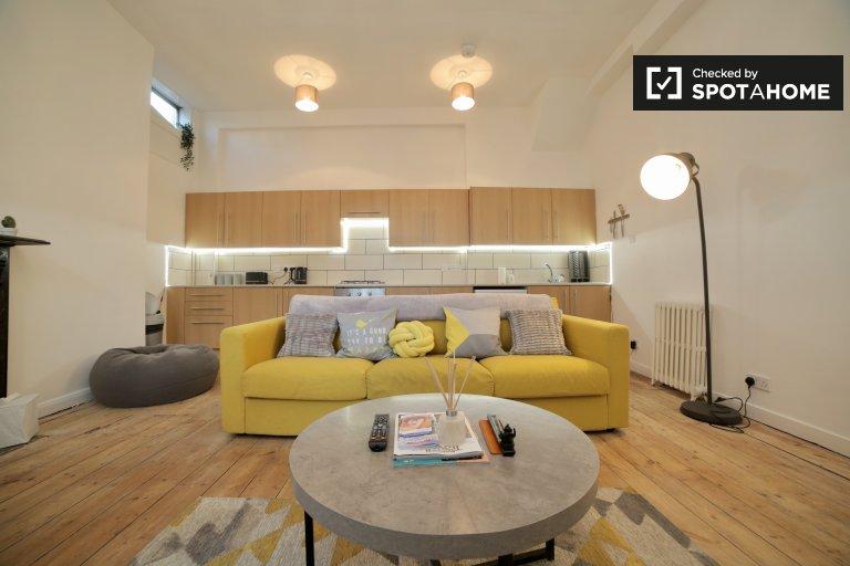 Uroczy 2-pokojowe mieszkanie do wynajęcia, Hackney, Londyn