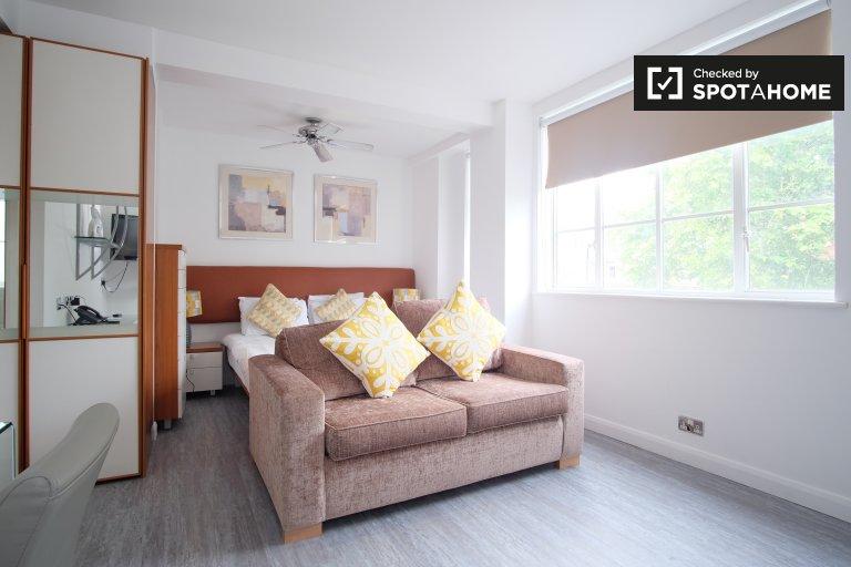 Möbliertes Studio-Apartment zur Miete in Kensington, London