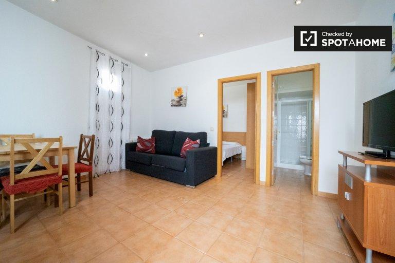 Apartamento de 1 quarto elegante para alugar em Carabanchel, Madrid