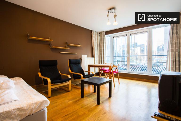 Studio apartment for rent in Saint-Josse, Brussels