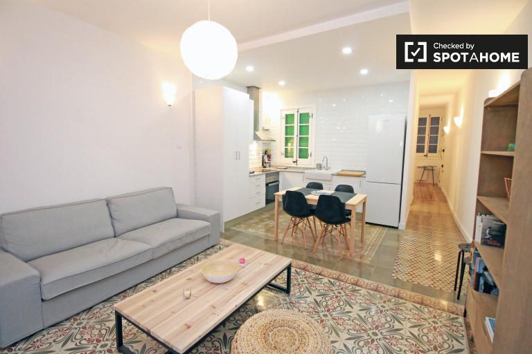 Apartamento de 2 quartos moderno para alugar - Barri Gòtic, Barcelona