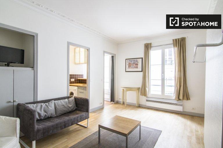 Studio apartment for rent in the 9th arrondissement, Paris