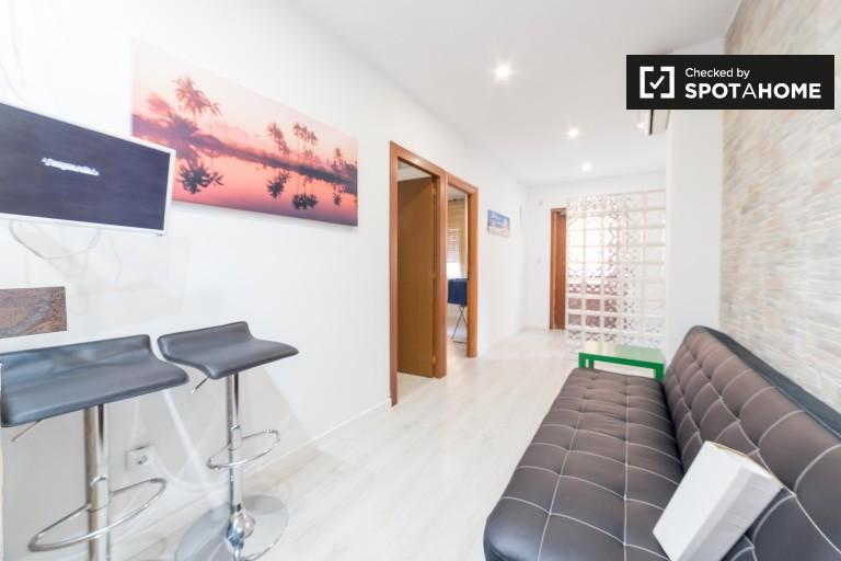 3-osobowy apartament do wynajęcia przez UPV i plażę w Walencji