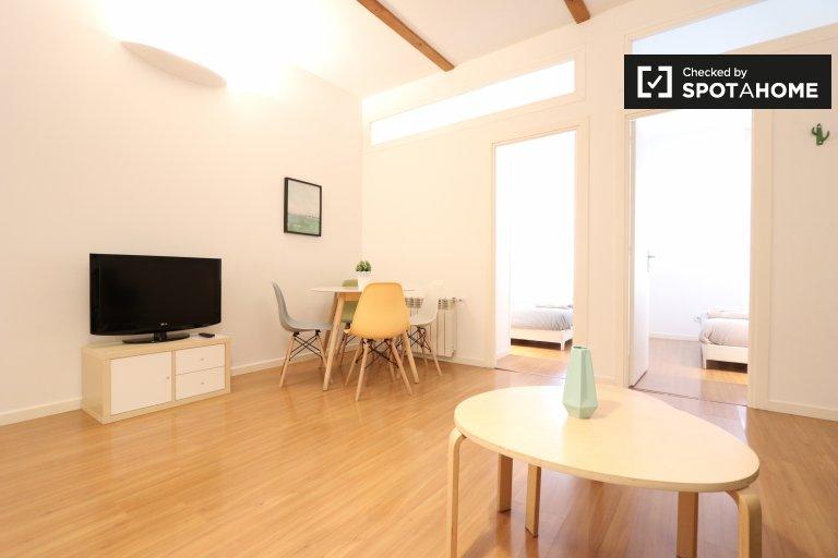 Jasne 2-pokojowe mieszkanie do wynajęcia, Chamberí, Madryt