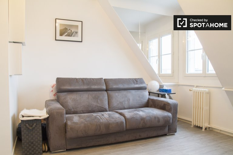 Trendy studio apartment for rent near Champ de Mars in the 7th arrondissement