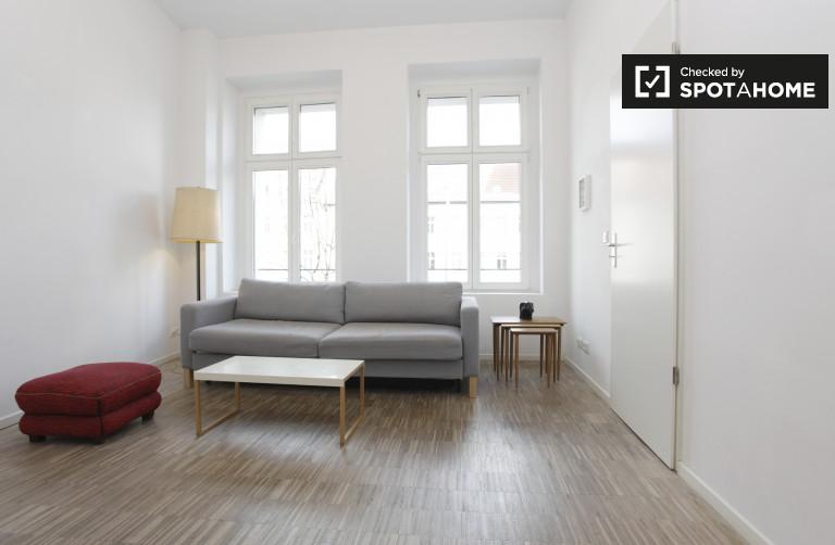 Luminoso departamento de 1 dormitorio en alquiler en Mitte, Berlín