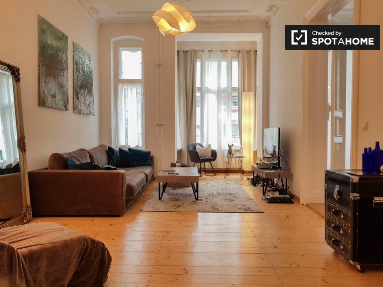 Geräumige Wohnung mit 1 Schlafzimmer zur Miete in Mitte, Berlin