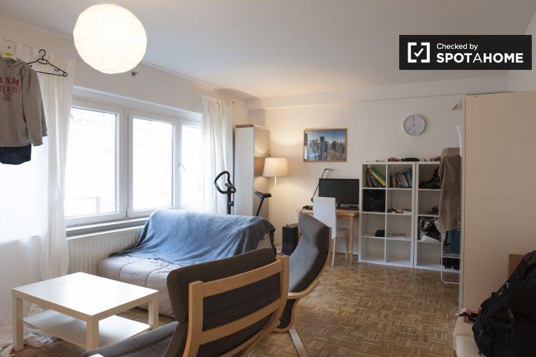 Luminous 1-bedroom apartment for rent in the European Quarter