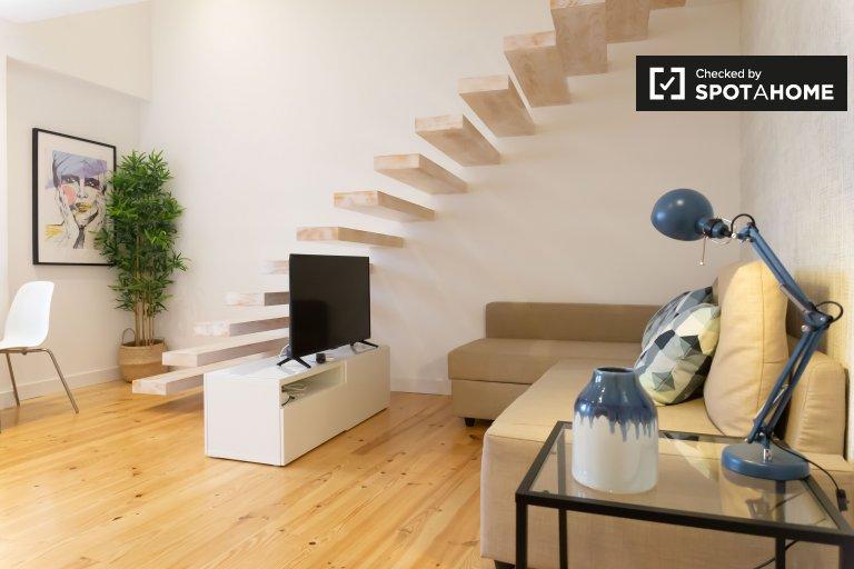 1-Zimmer-Wohnung zur Miete in Belém, Lissabon