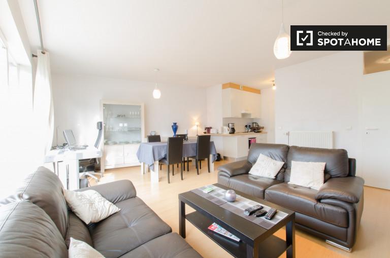 Apartamento de 1 dormitorio con balcón en alquiler, Jette, Bruselas