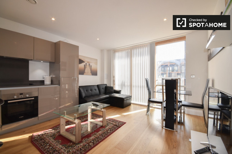 Modern 2-bedroom apartment to rent in Tower Hamlets