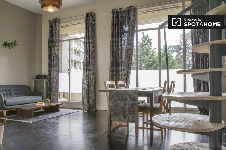 Stylish 1-bedroom apartment for rent in Boulogne