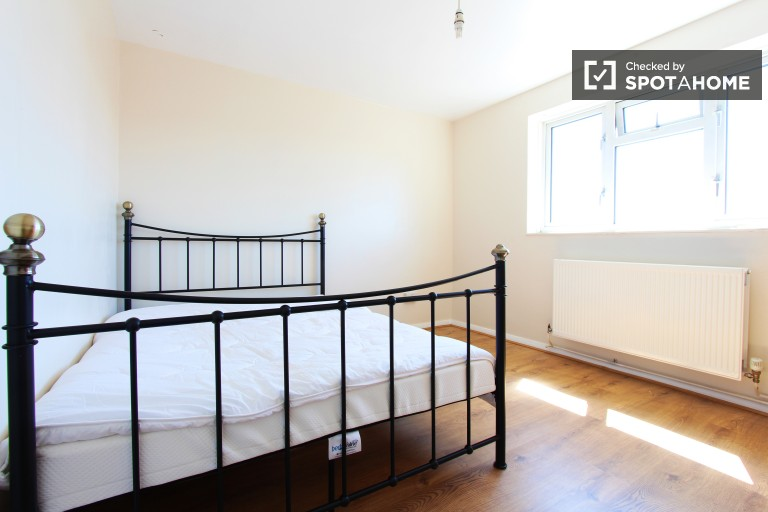 Bedroom 2 with double bed and chest of drawers