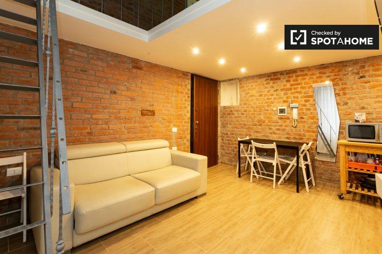Stylowy apartament typu studio do wynajęcia w San Cristoforo, Mediolan