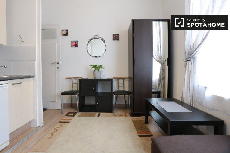 Cozy studio apartment for rent in Koekelberg, Brussels
