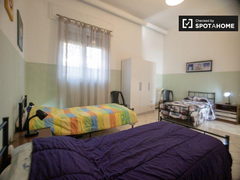 Bett zur Miete in 1-Zimmer-Wohnung in Villapizzone, Mailand