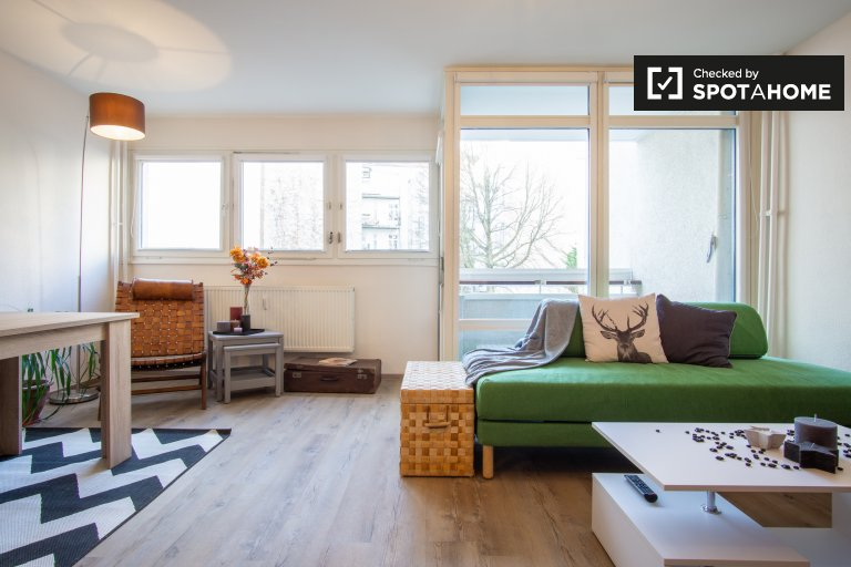 Simpatico monolocale in affitto a Charlottenburg, Berlino