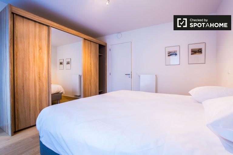 Moderne 1-Zimmer-Wohnung zur Miete in Ixelles, Brüssel
