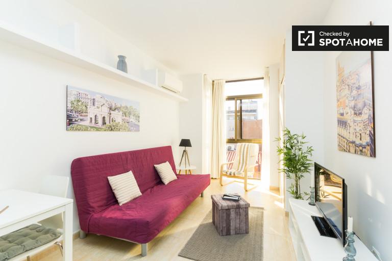 Studio-Wohnung mit AC mieten in Chamberí, Madrid