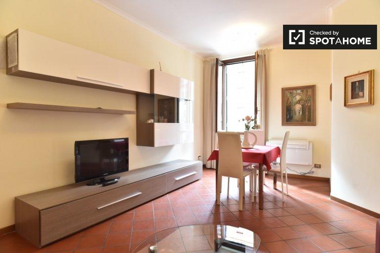 Lumineux appartement 1 chambre à louer à San Giovanni, Rome
