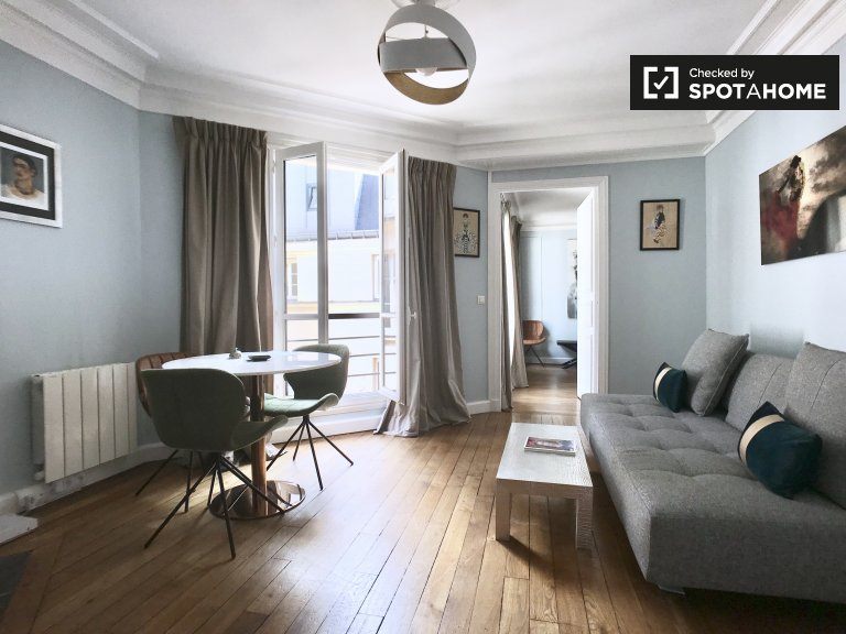 Fab 1-bedroom apartment for rent in the 1st arrondissement