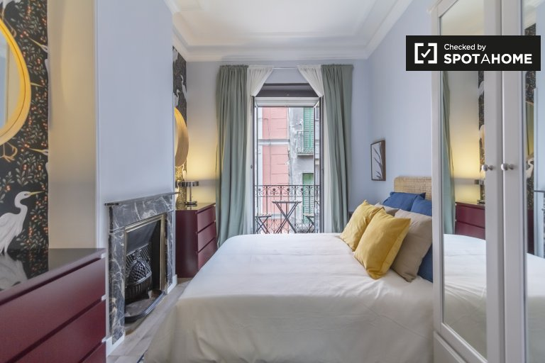 Luxus-Studio-Apartment zu vermieten in Chueca, Madrid