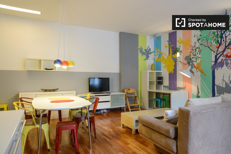 Bright and welcoming 3-bedroom apartment for rent in Wieden