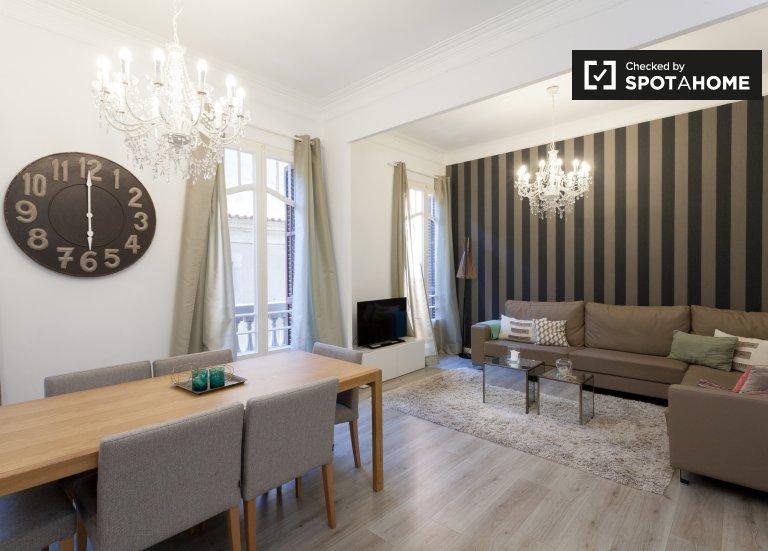 Apartamento de 3 quartos para alugar em L'Esquerra de l'Eixample