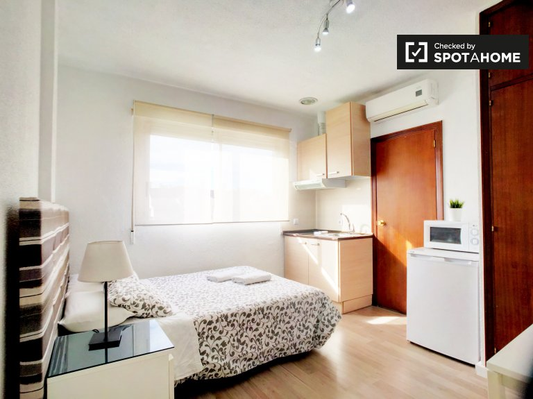 Cute and cozy studio apartment for rent in Moncloa, Madrid
