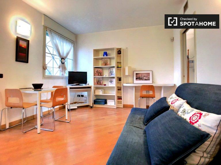 Apartamento de 1 dormitorio en alquiler en Morivione, Milán