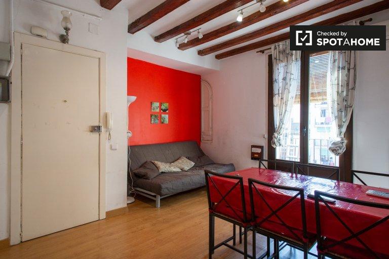 El Raval, Barselona kiralık 2 odalı daire