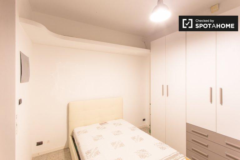 Dwuosobowy pokój do wynajęcia w 2-pokojowym mieszkaniu w Villapizzone