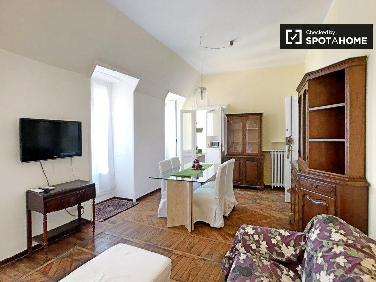 Apartamento de 1 dormitorio en alquiler en Centro Histórico, Milán
