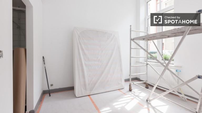 Double Bed in En-suite rooms for rent in a wonderful brand new 8-bedroom house in Etterbeek