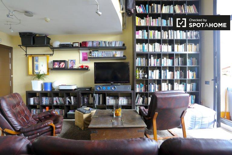 Przestronny apartament z 1 sypialnią do wynajęcia w Alcobendas w Madrycie