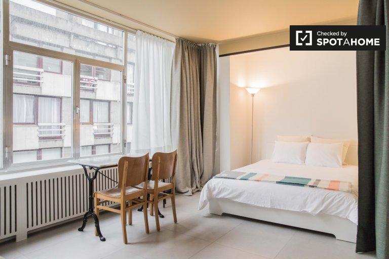 Studio-Wohnung zur Miete in Saint-Gilles, Brüssel