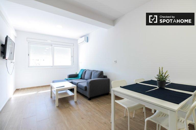 Chill 1-Zimmer-Wohnung zur Miete in Sants, Barcelona