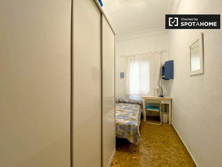 Chambre confortable à louer à Extramurs, Valence
