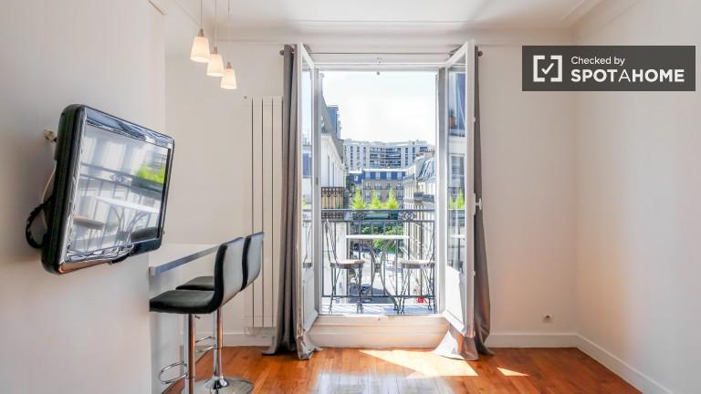 Monolocale con balcone in affitto - Vaugirard, Paris 15