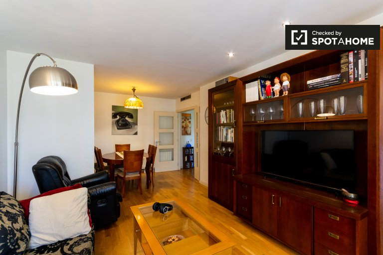 Luxe 3-bedroom apartment for rent in San Blas, Madrid