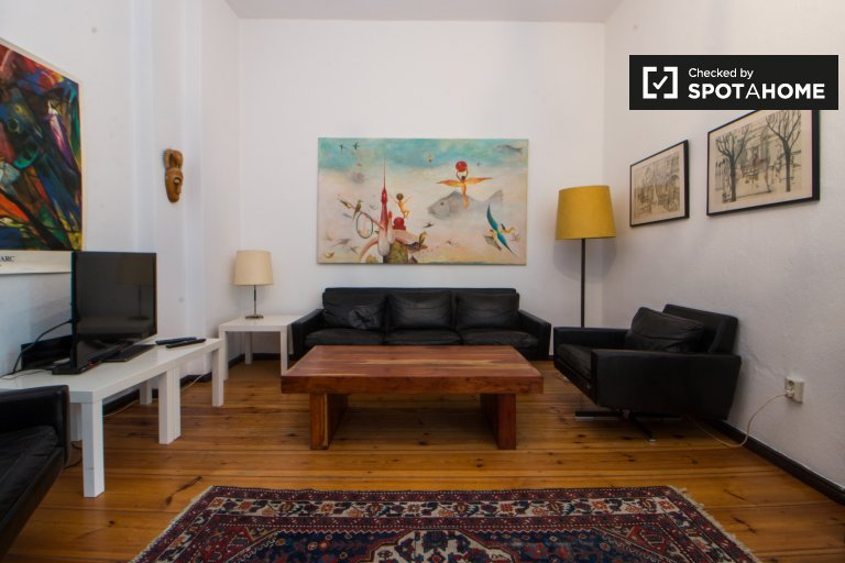 Charming 1-bedroom apartment for rent in Pankow