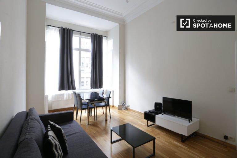 Nowoczesny apartament z jedną sypialnią do wynajęcia w centrum Brukseli
