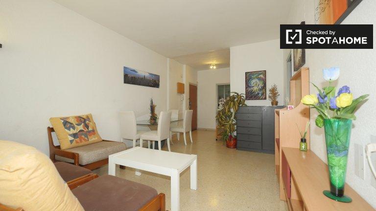 Helle 1-Zimmer-Wohnung zur Miete in Sant Andreu, Barcelona